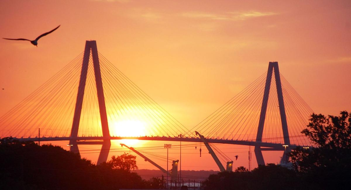 Partly sunny, high near 79 in Charleston today
