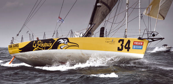 Van Liew seeks sweep: With about 1,400 miles to go, Charleston skipper leads final leg