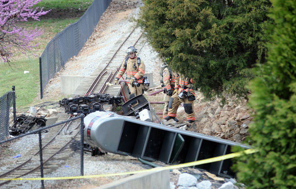 Speed cited in train crash: Authorities say video was key in inquiry