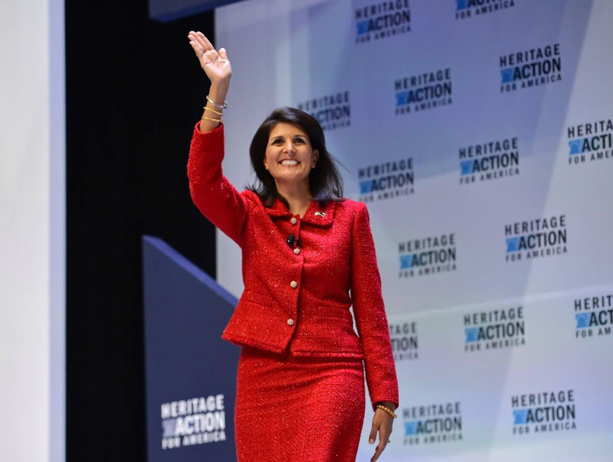 Carly Fiorina's rise could eclipse Nikki Haley's higher aspirations
