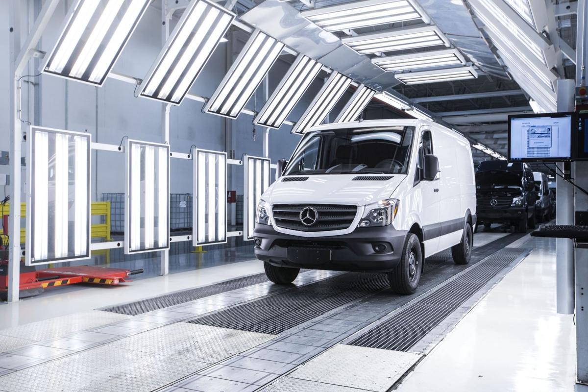 N. Charleston Mercedes plant gets checkup New Daimler AG boss stops by for progress report, speaks at expo