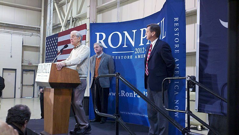 Ron Paul leaves Lowcountry, starts last-minute statewide tour