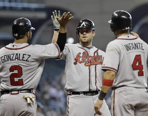 Braves score six in 10th to top Astros
