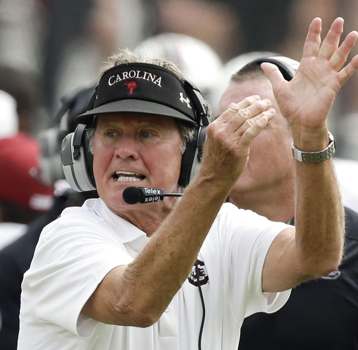 Spurrier: Chemistry apparent on the field