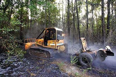 Mount Pleasant fire burns several acres