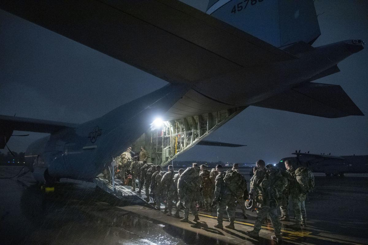 Joint Base Charleston troops ready 'anywhere, anytime'