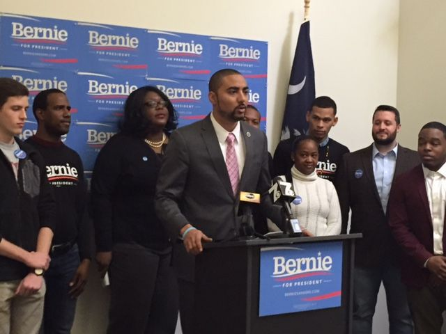 S.C. lawmaker shifts support to Sanders (copy)