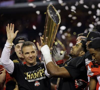 Ohio State wins 1st playoff title with 42-20 win over Oregon