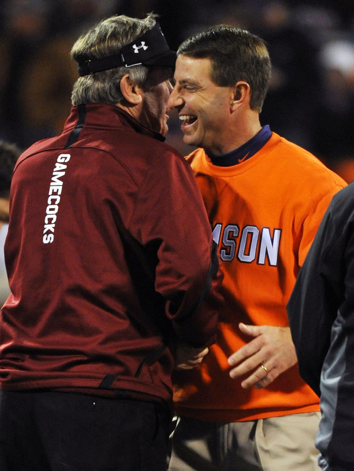 Times set for USC, Clemson openers