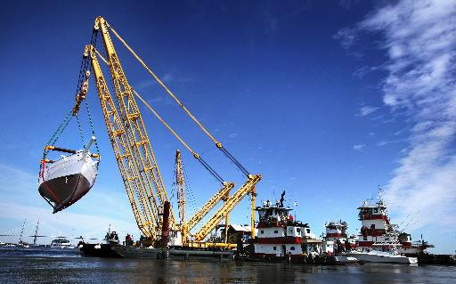 1 million pound load? Charleston Giant crane can handle it