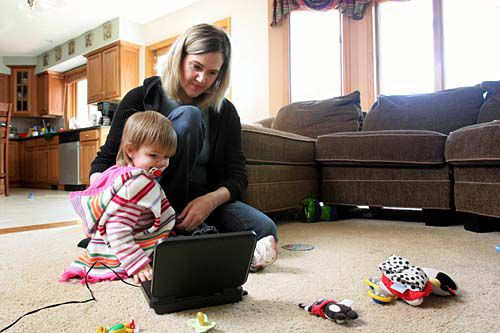 Parents turning to technology to help soothe anxious children