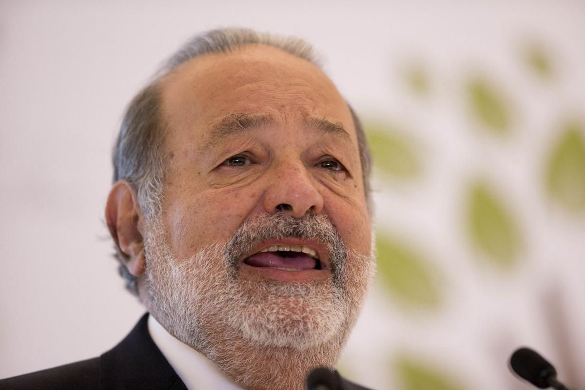 Forbes: Carlos Slim world's richest for 4th year in a row