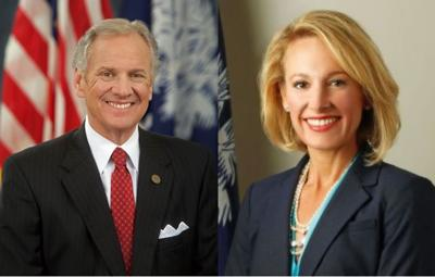 Gov. Henry McMaster and Catherine Templeton