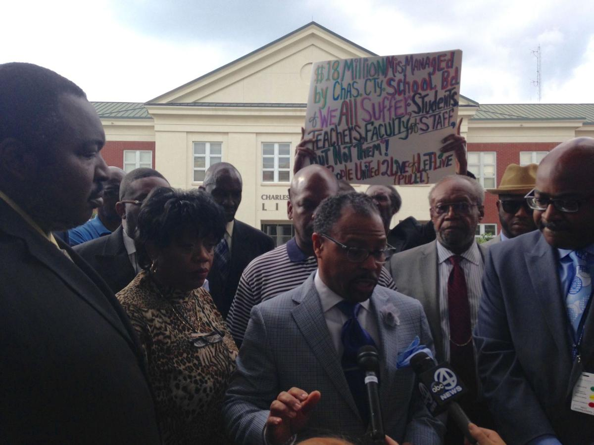 Black members walk out of Charleston school board meeting in protest amid claims of segregation