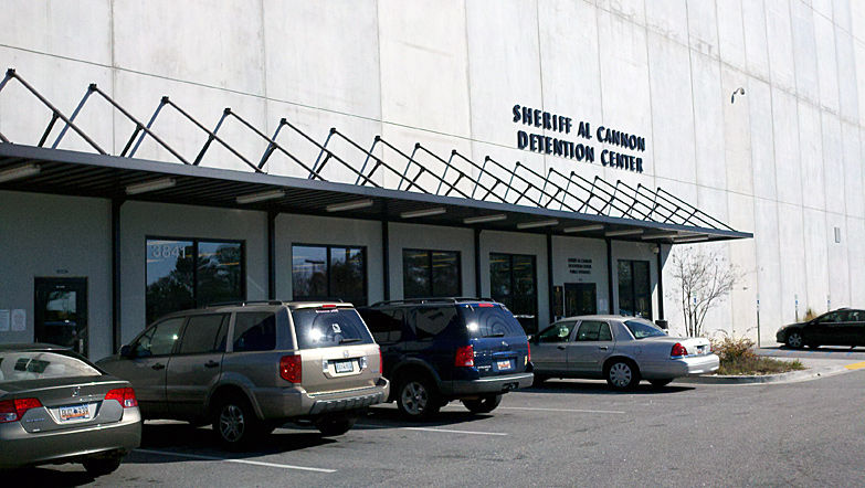 Jail off lockdown after fire suppression system activates in control room