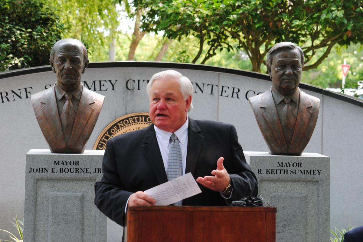 North Charleston mayors Summey, Bourne honored for service