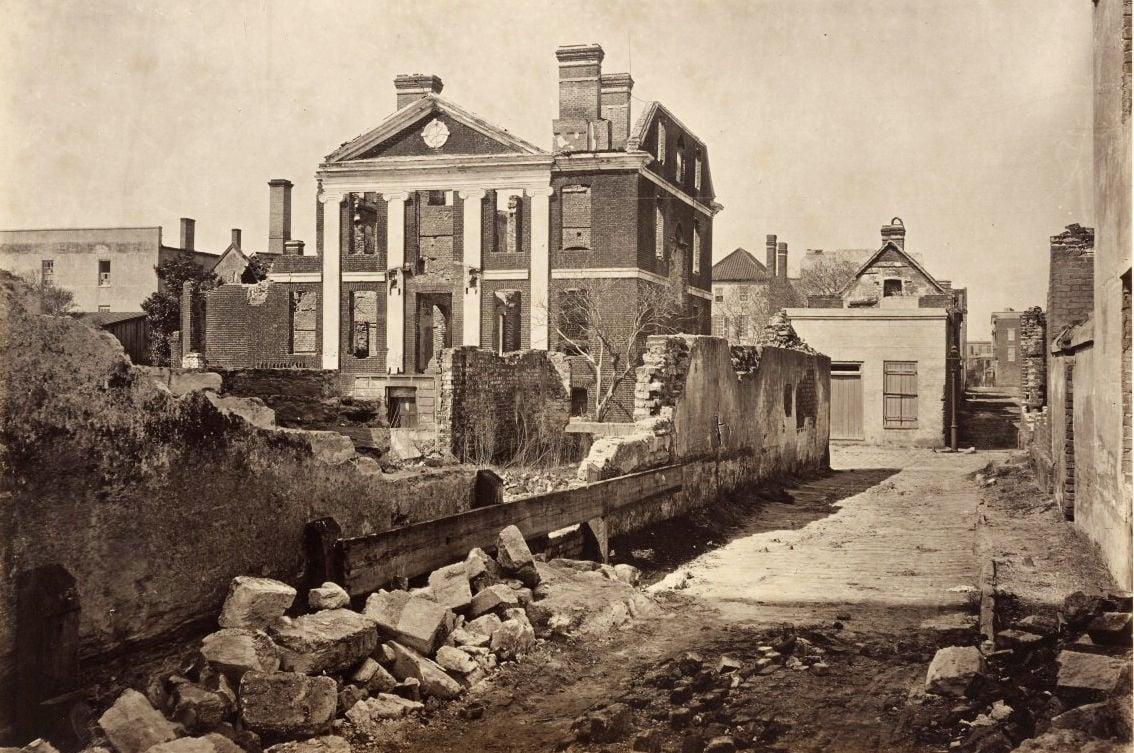 Pinckney Mansion ruins