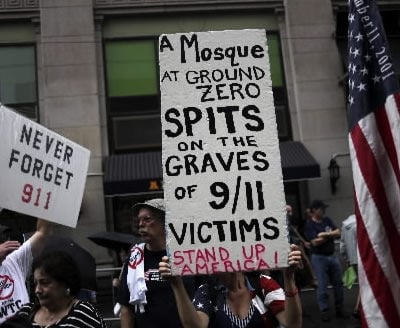 N.Y. mosque protest becoming angrier