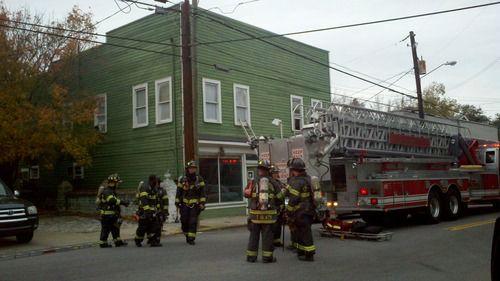 Firefighters battle King Street blaze