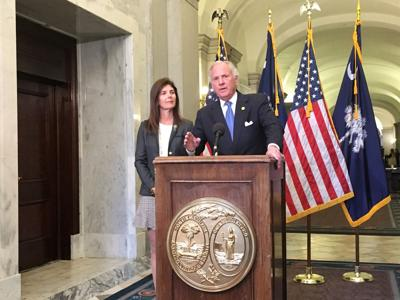Henry McMaster's budget proposal