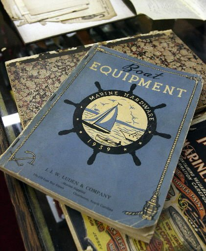 Nautical memorabilia on the auction block