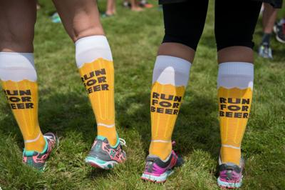 Running and craft beer wed at Saturday event