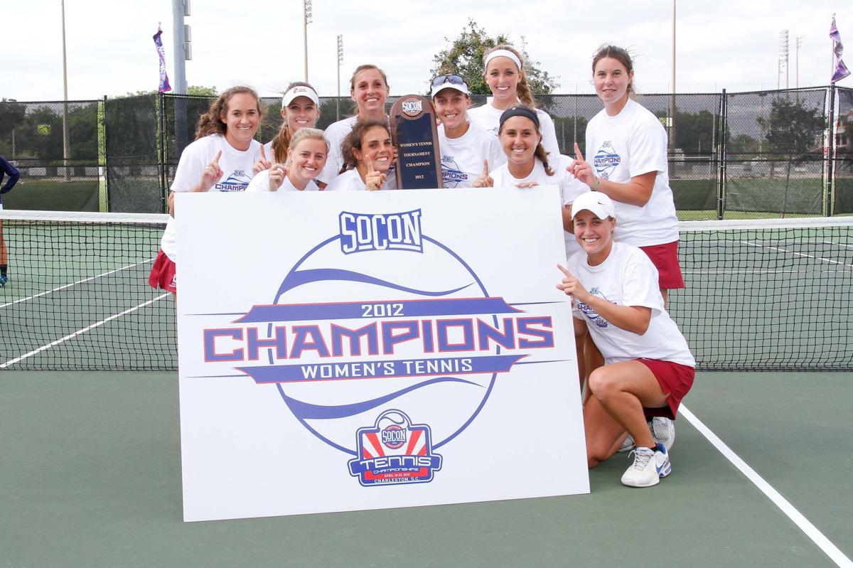 College of Charleston claims SoCon women's tennis title