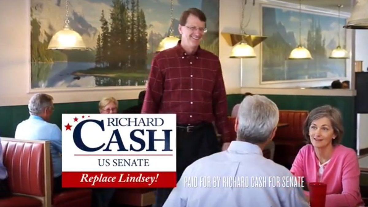 Senate candidate Richard Cash has new anti-Lindsey Graham ad out