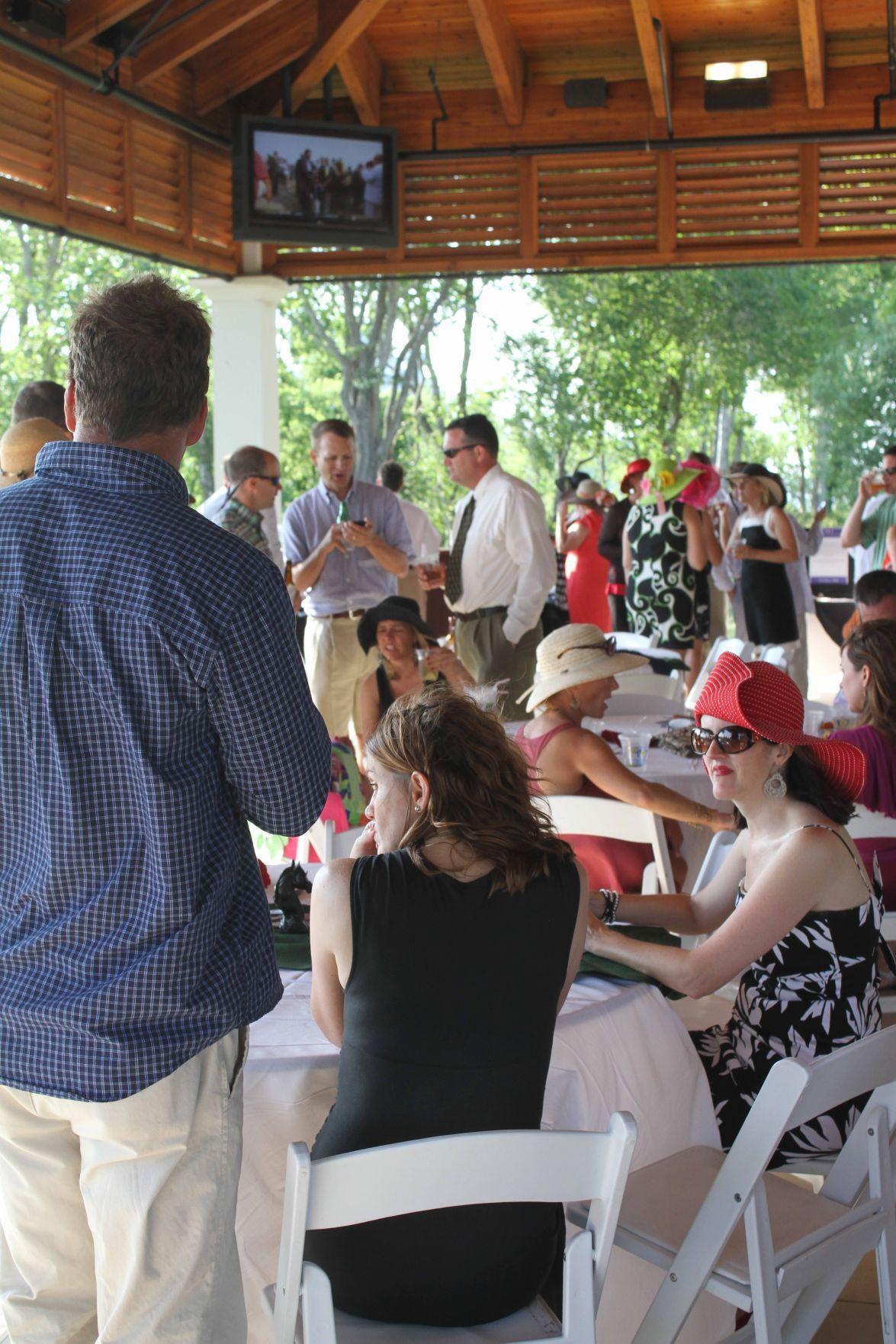 Derby Day Party Charleston Scene