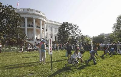Obamas hosting annual White House Easter Egg Roll