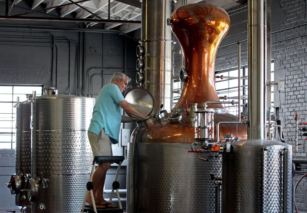 That local spirit Charleston distillery infused with homegrown flavor heralds a trend Producing potent potables