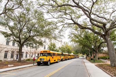 gaillard center buses