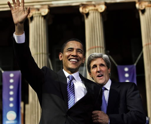 Kerry endorses Obama at College of Charleston appearance