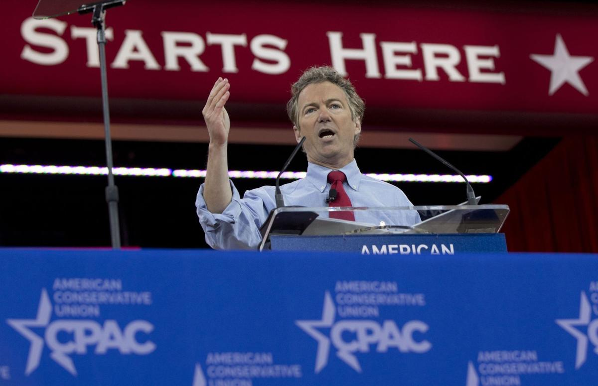 Rand Paul wins CPAC straw poll