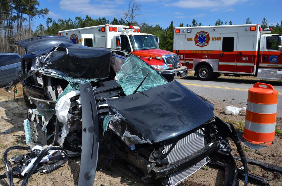 Minivan crashes into bus carrying senior citizens in Colleton County, sending nine people to hospitals