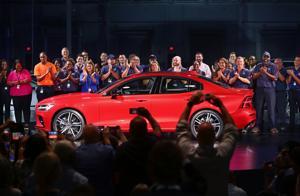 Volvo unveils 1st car it will make at South Carolina plant, thanks Nikki Haley