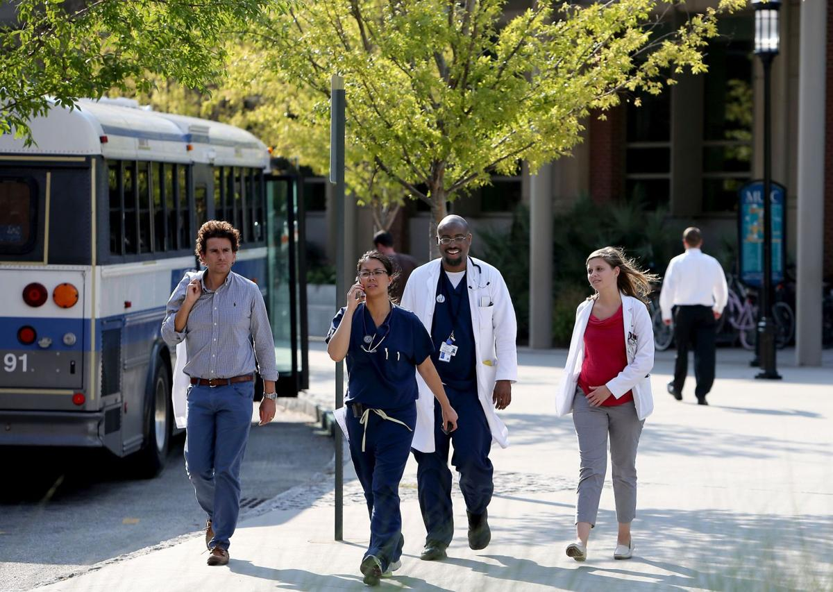 MUSC taking steps to heal old wounds Roper St. Francis also confronting diversity issues