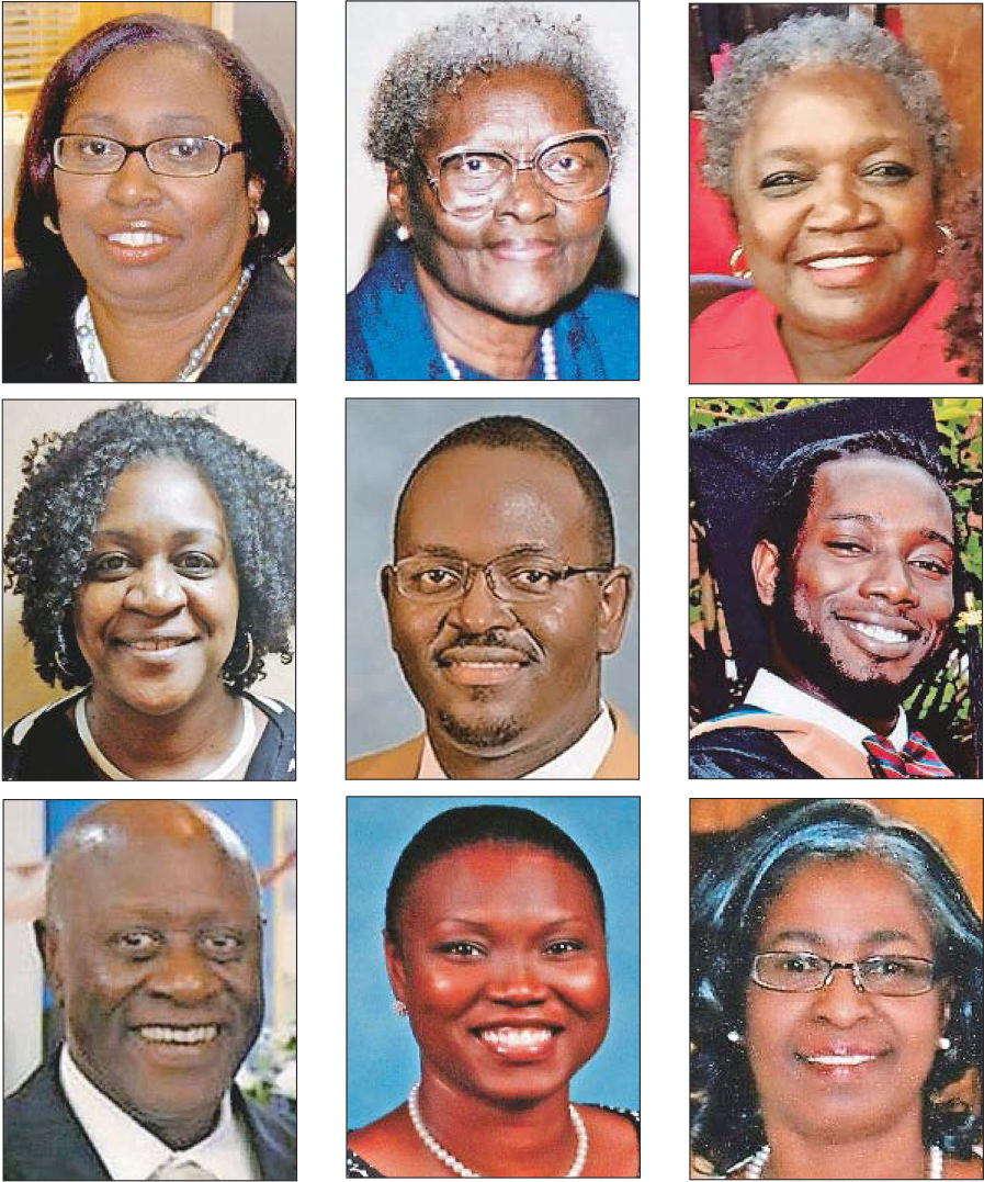 Remembering the nine people who died in the Emanuel AME Church shooting (copy) (copy)