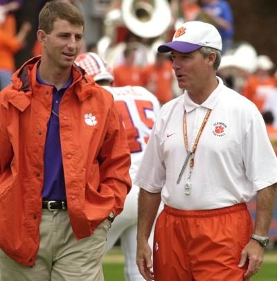 Dabo Swinney and Tommy Bowden
