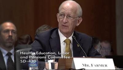 Ray Farmer testifies at Senate Hearing (copy)