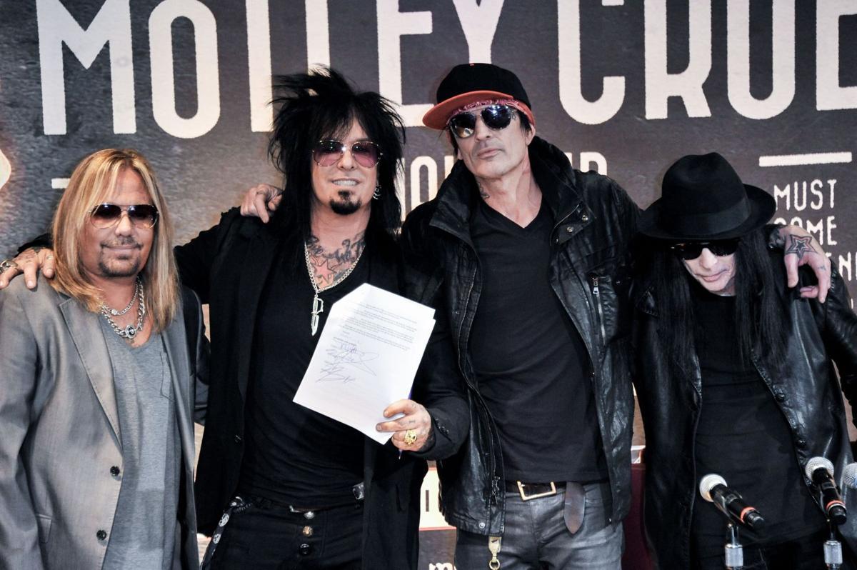 Motley Crue retiring, plans 72 goodbye concerts with Alice Cooper