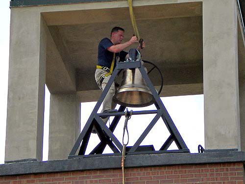 Tower bell returns to Summerville annex