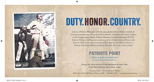 Patriots Point to begin ad campaign