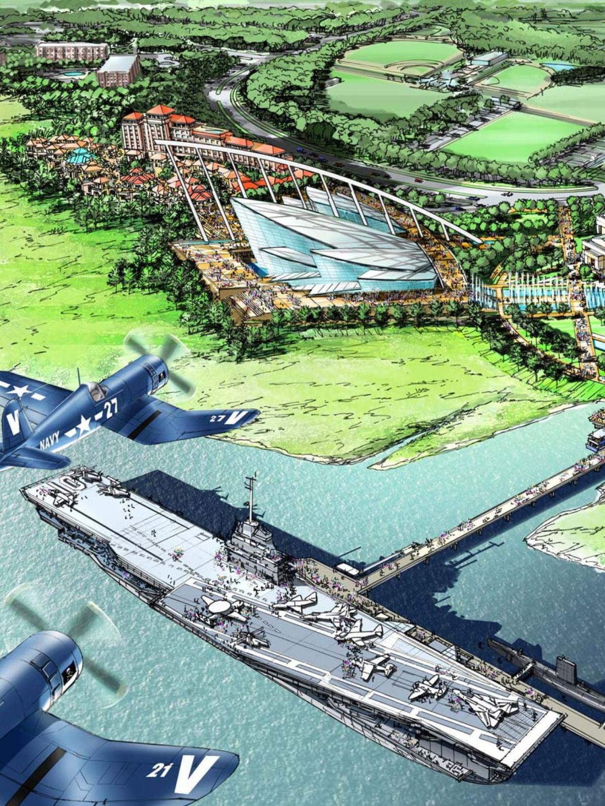 Patriots Point unveils plans for $100 million Medal of Honor Museum