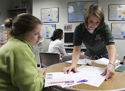 Weak dollar, economy hurt overseas study