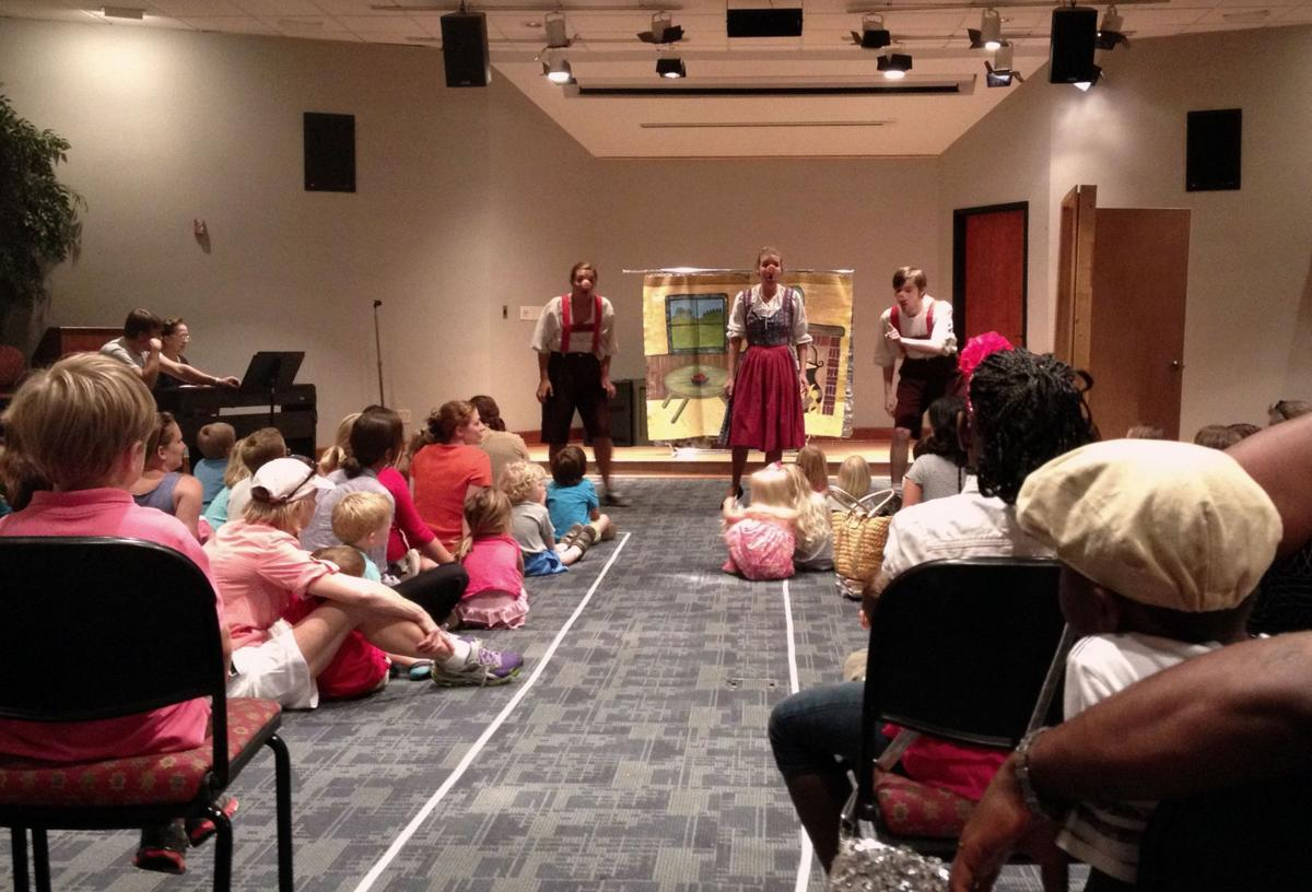 Piccolo Spoleto's children's programming heats up at the library