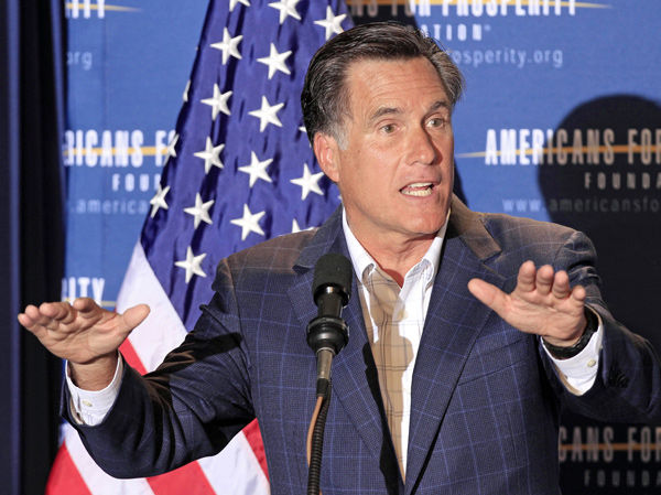 Analysis: Romney invisible now, but just wait