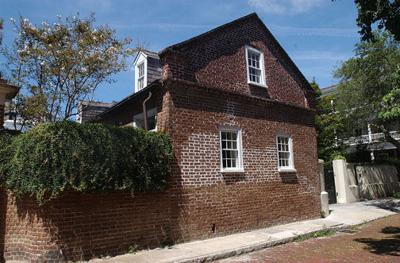 Lower Church Street carriage house charming spot for executive to lease