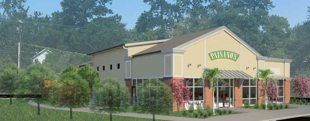 Proposed Paisano's Pizza Grill in Mount Pleasant