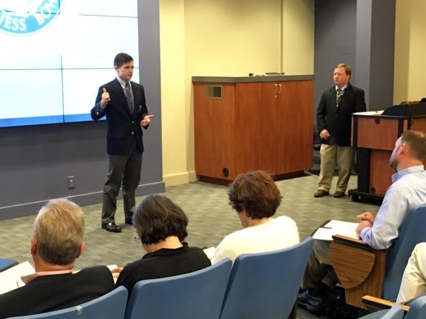 The Citadel's Business Bowl helps launch young entrepreneurs
